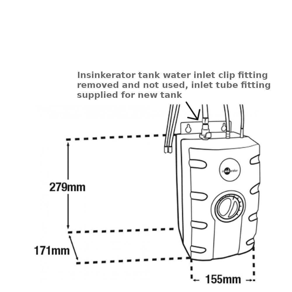 Insinkerator-tank