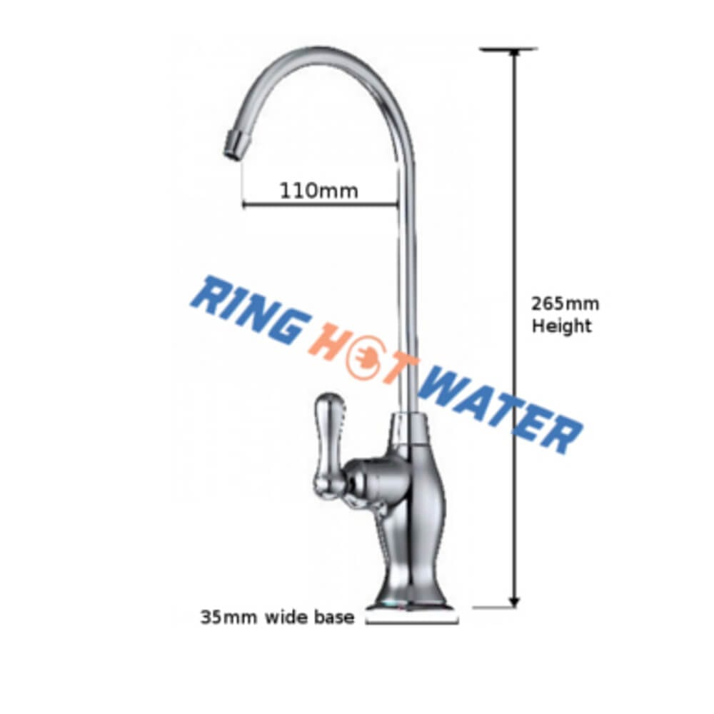 Bat handle water Filter Tap