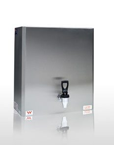 Wall Mounted Stainless Steel 60 liter 4.8kw Power Twin Taps Instant Boiling Water