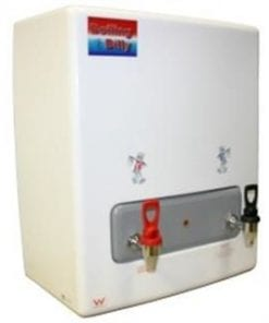 Wall Mounted White 60 liter 4.8kw Power Twin Taps Instant Boiling Water