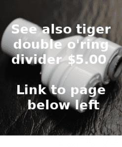 "John Guest 1/4"" tubeEqual Divider"