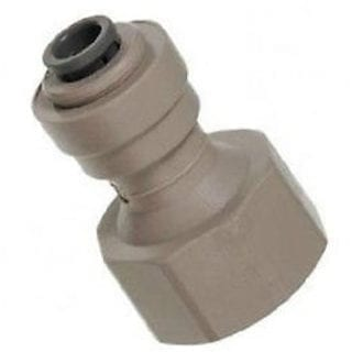 "John Guest Tap Adapter 1/4"" tube x 1/2"" NPT Female"