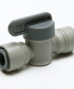 "Isolating Valve 3/8"" Tube X 3/8"" Tube"