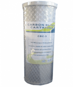 10 MICRON CARBON BLOCK WATER FILTER CARTRIDGE