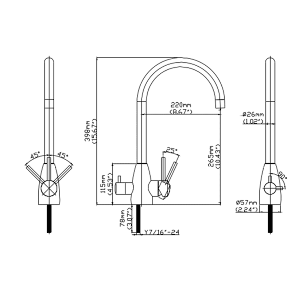 stainless-steel-3-way-tap-measurements